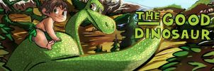 The Good Dinosaur Banner by littlefoxproductions