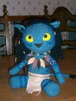 My Neytiri Amigurumi Doll by MilesofCrochet