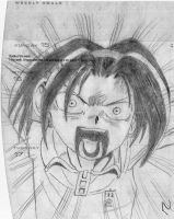 Angry Yoh by Chick-with-a-pencil