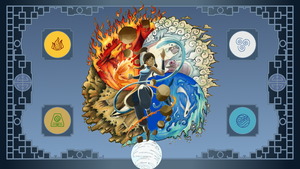 Master Of The Elements - The Legend Of Korra by tweaqr