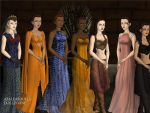 Women of A Song of Fire and Ice pt 2 by TLKFANKING