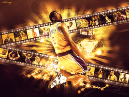 Kobe Bryant Wall by kingofdesigndesign