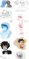 Homestuck Sketches by Straight-AsA-Rainbow