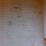 Facial Features by Rosthornwariorartist