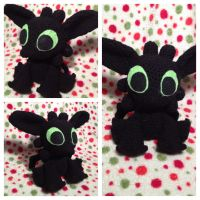 Toothless Doll by Flyinfrogg
