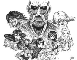 Attack on Titan by BlazeOfPhoenix