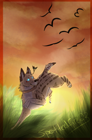 :Chasing the Sun: -gift- by Spottedfire23