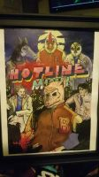 hotline miami painting  by Pacoolocoo