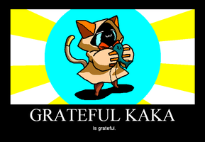 Grateful Kaka by dedded
