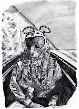 Fighter Pilot by TheLadyNerd