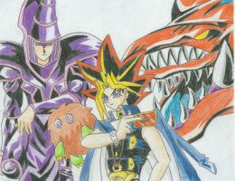 Yugi by Megasc0rpion