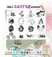 2012 Easter ArtBrushSet by Diamara
