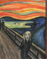 The scream_Munch_artcover by yourlittlepsycho