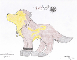 Lilybit as a Wolf - Request by PeaceWolfLegacy