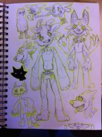 sketches by SCAlENE-TRlANGLE