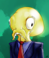 OCTODAD by BerriesSparrowMouse