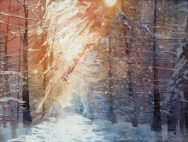Winter by yelou