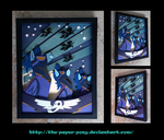 The Shadowbolts Poster Shadowbox by The-Paper-Pony