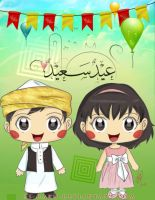 happy eid by HJ-Haru