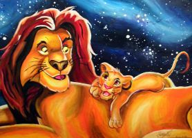 The Lion King by PrehistoricGiraffe