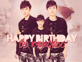 HAPPY BIRTHDAY DO KYUNGSOO!! by kamjong-kai