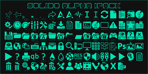 Solido Alpha iPack for Windows 10 All Editions by Agelyk