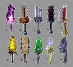 2h swords concepts by blazan