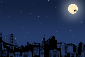 city at night by S-helleh
