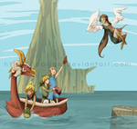 Wind Waker by Lubrian