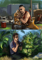 FC3 - Tiger cubs by DreamyNatalie