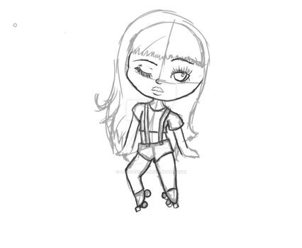 WIP Chibi Skates by LuciDeVille
