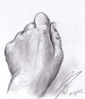Hand drawing by Bruneburg