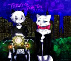 Thanks For The Ride by toyotami