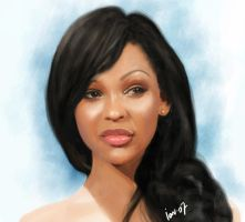 Meagan Good by IonChirita