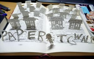 Paper Towns, book art. by fantanazz