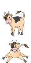 Cows by shikaru