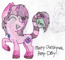.:SS:. Merry Christmas Amy-Defy! by MelchiorFlyer
