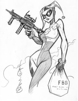 Harley Quinn by Hodges-Art