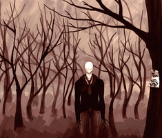 Slenderman by TrollcreaK