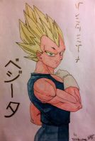 Vegeta Super saiyan by ciccio91gow