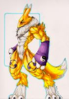 Renamon by MobsterQueenPin