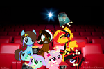 MLP goes to the movies by TeamChelsea