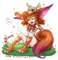 Gnar in human form! by sueyen79417