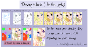 Hit the lights drawing tutorial by KrisLiao