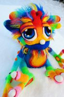 Full Blue Rainbow Sprite Goblin by Tanglewood-Thicket