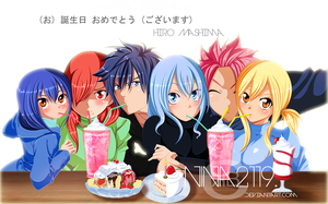 FT friends/Happy Birthday Hiro Mashima! by nina2119