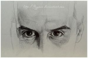 Moriarty eyes sketch by Feyjane