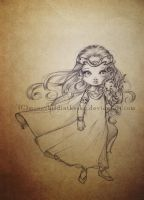 little dragon princess by MoonchildinTheSky