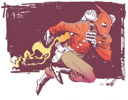 Rocketeer commission by Robbi462