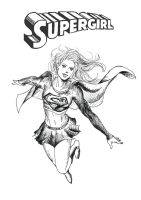 Supergirl by Roxellana